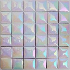 Kitchen Porcelain Mosaic Tile Sheets Iridescent Ceramic Tiles Flooring Glossy Wall Backsplash Tc4803 Bathroom