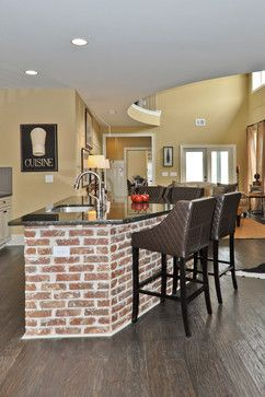 Brick Kitchen Islands Signature Homes Kitchens For The