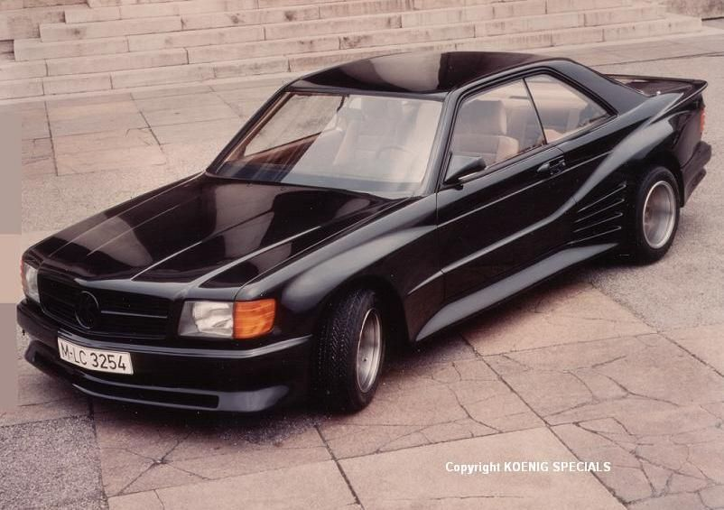 560sec With That Koenig Widebody Kit With Images Mercedes