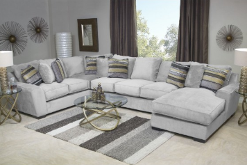 Oracle Tux Sofa Chaise Sectional In Platinum Left Facing Living Room Sets Classy Living Room Modern Furniture Living Room