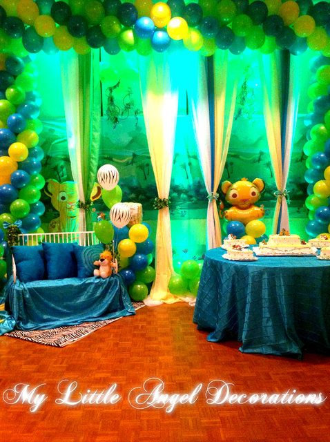 King Of The Jungle Baby Shower Party Ideas Baby Boy Baby