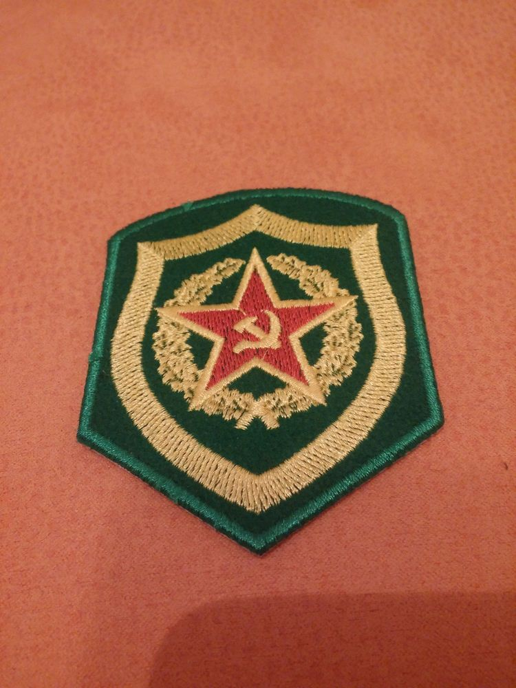 Police Patches Russian Special Forces