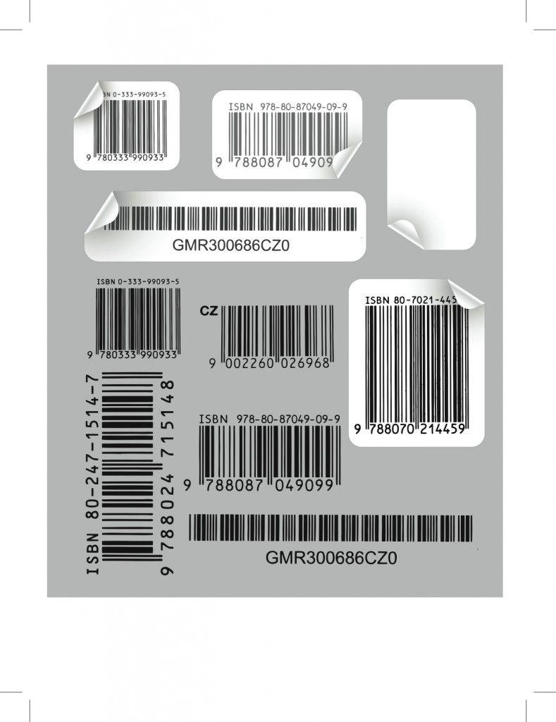 42 Vector Bar codes Cover art design, Graphic design
