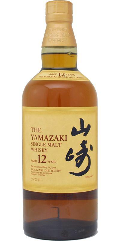 Yamazaki 12 Year Old Whisky Drinks Whisky Malt Whisky