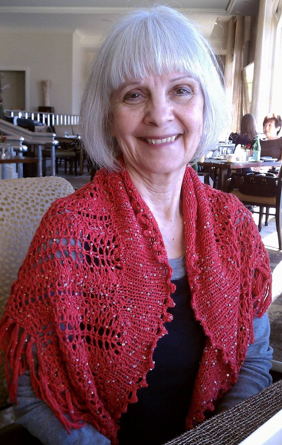 PDF Download Knit Pattern for the Saucy Spanish Lace Shawlette ...