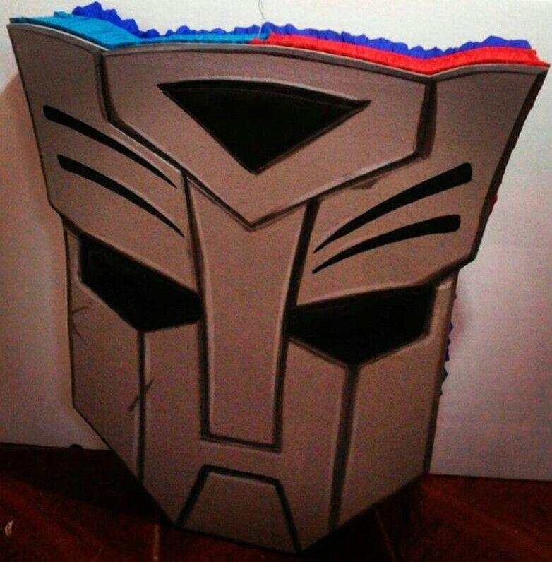 Pi ata logo de transformers pi atas y cajas de regalos - Regalos para pinatas ...