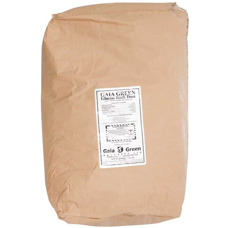 Gaia Green Glacial Rock Dust 50 Lb Organic Gardening Soil Organic Gardening Perfect Garden Soil