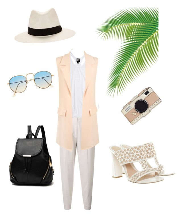 """""""Spring Vibes apr 9"""" by lauren-ilana ❤ liked on Polyvore featuring MaxMara, Ivy Park, WearAll, Alexander McQueen, Kate Spade and rag & bone"""