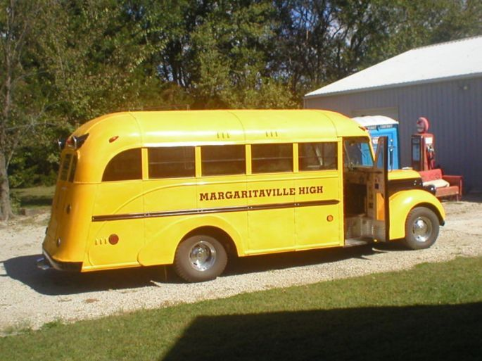 1940 Ford School Bus 12 Passenger Conversion 5377 Antique Buses