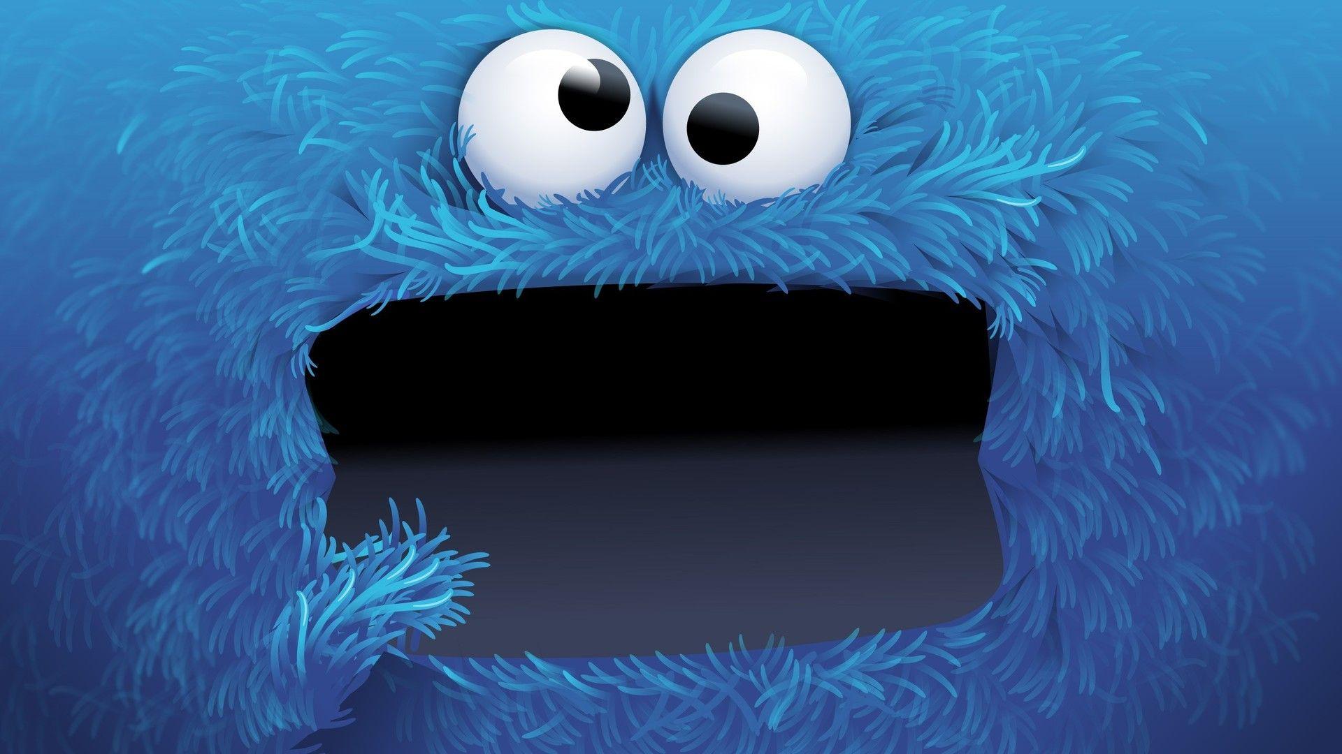 Cookie Monster Hd Wallpaper Cookie Monster Wallpaper Cartoon Wallpaper Monster Cookies