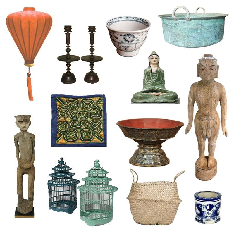 Home Decor And Accessories Part - 43: This Is A Mood Board I Found Containing Vietnamese Home Decor Accessories.  Today, We