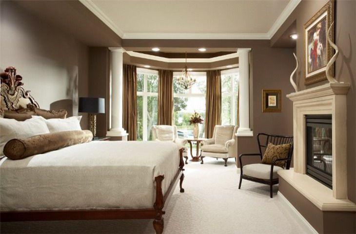 Romantic Master Bedroom Designs Bold Brown Bedroom Color Scheme Some Romantic Master Bedroom