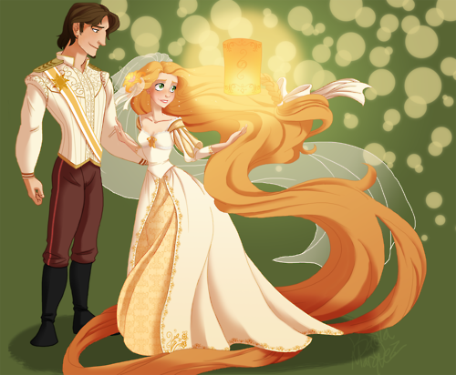 Cute and different look of Tangled