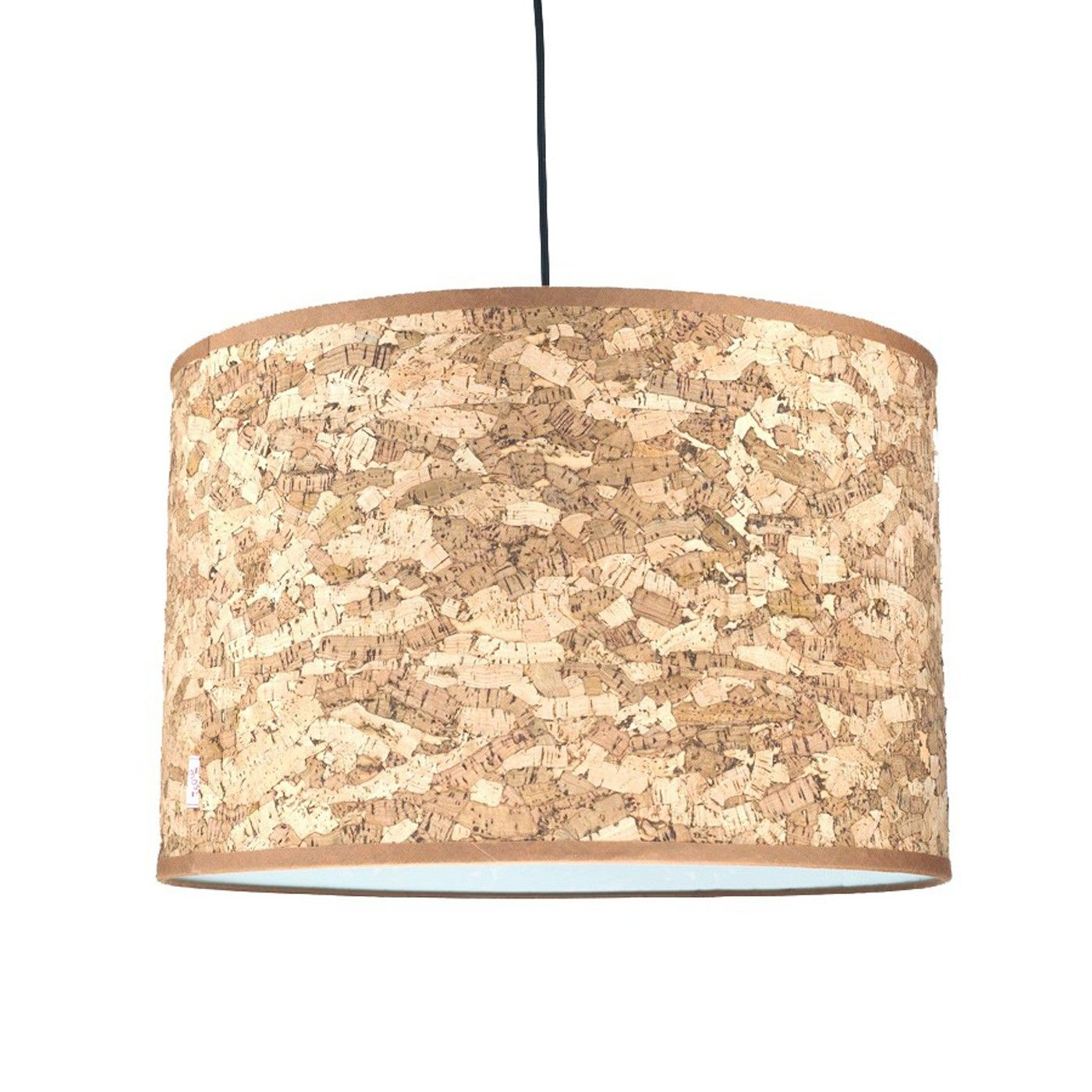 Crafted From Cork This Simply Styled Hanging Shade Is Available In A Natural Or Smoked Effect Ideal For Creating A Relaxing Ambience T Natural Lamps Funky Lamp Shades Ceiling Lights