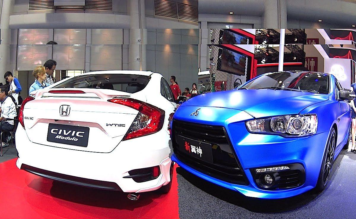New 2016, 2017 Honda Civic Touring, Turbo VS New 2016