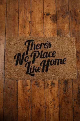 No Place Like Home Doormat - Keep.com