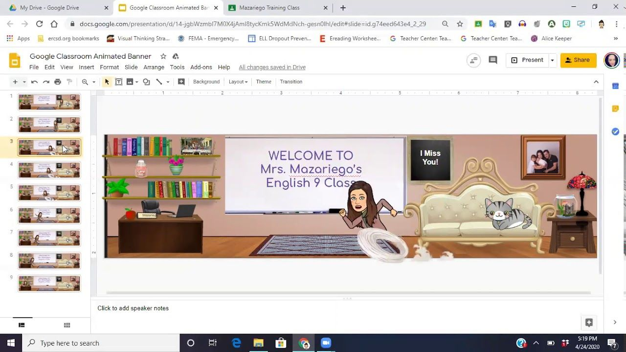How to make your customized Google Classroom Banner
