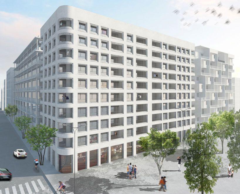 Herzog De Meuron Develops Lyon Confluence Masterplan Confluence Lyon Architecture