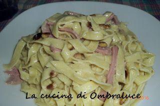 La cucina di Ombraluce: Tagliatelle delle due torri (con la mortadella)