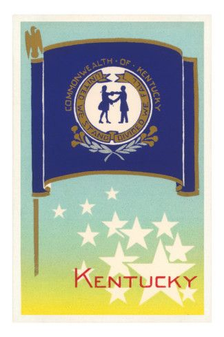 Flag Of Kentucky Photo Allposters Com In 2020 Kentucky Kentucky Flag Kentucky State Flag