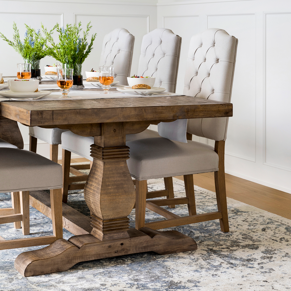 Caleb Dining Table In 2020 Dining Table Farmhouse Dining Room