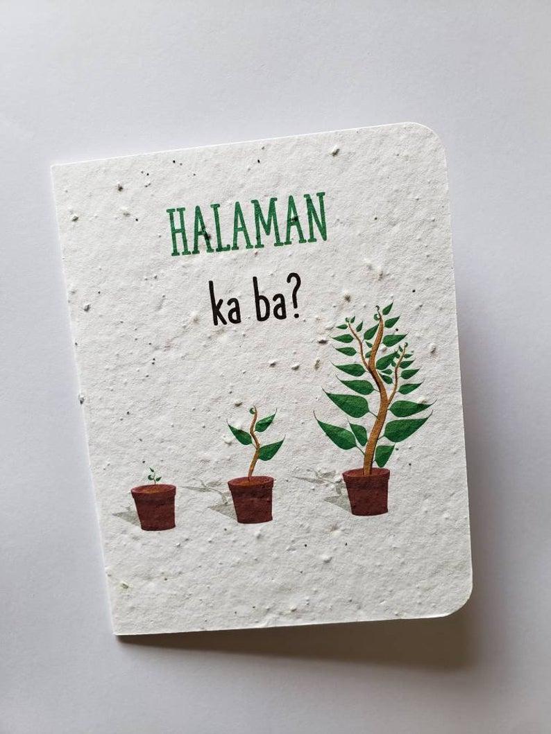 Maligayang Kaarawan Plantable Card Tagalog Pinoy Birthday Etsy Cards Birthday Greetings Funny Funny Birthday Cards