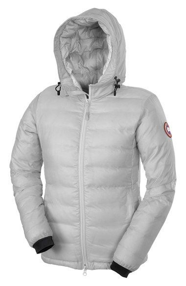 Canada Goose 'Camp' Slim Fit Hooded Down Jacket
