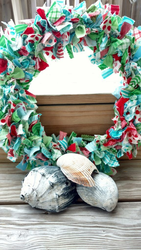 Photo of Christmas Fabric Wreath Tutorial – Quiltytherapy