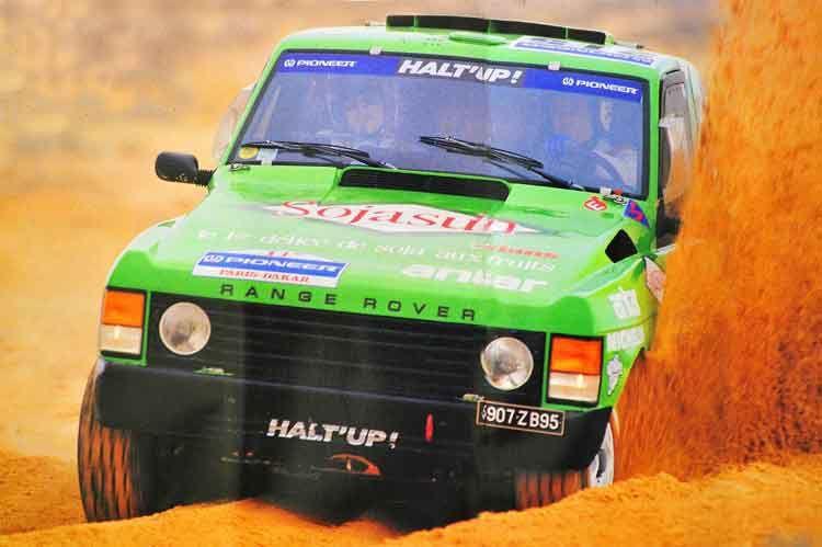 Knauz Land Rover >> Range Rover Dakar Halt up | Land Rover