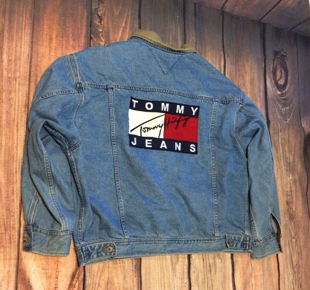 Pin by Amide Jacques on Vintage Heat | Denim jacket, Tommy
