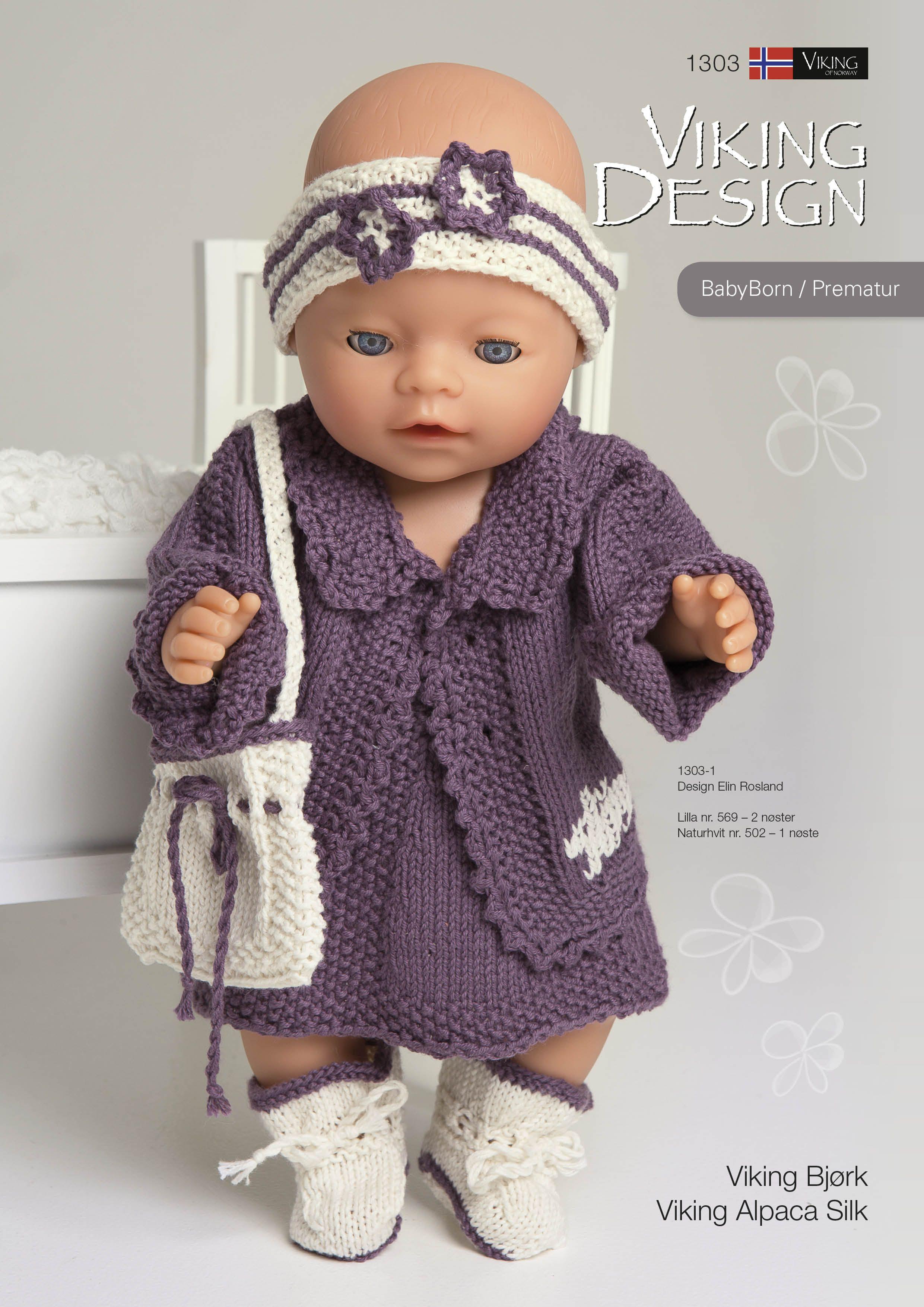 Katalog 1303 Nuket Baby Born Baby Ja Knitting Dolls Clothes