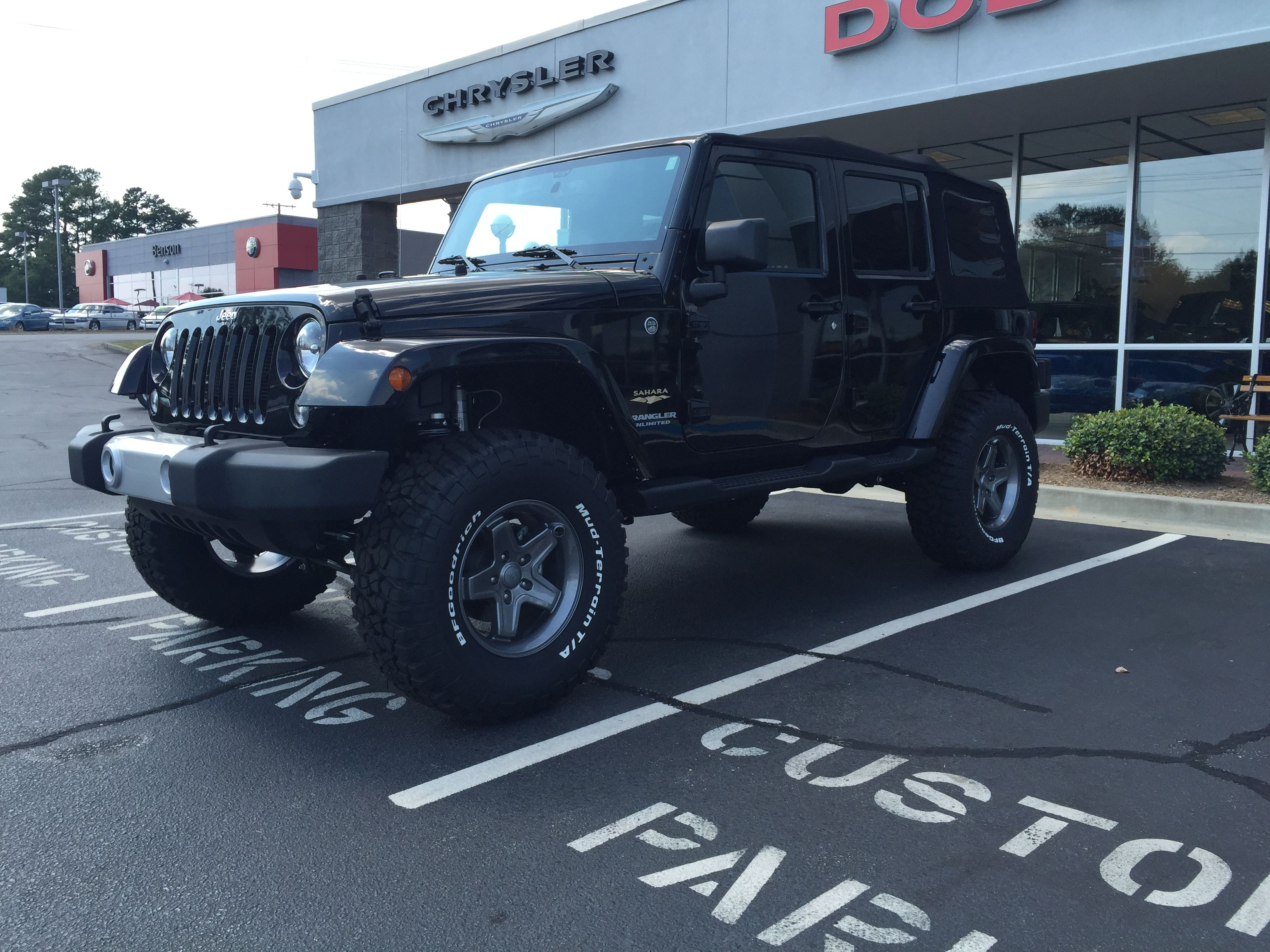 2015 Jeep Wrangler Unlimited with Mopar Performance Stage 3
