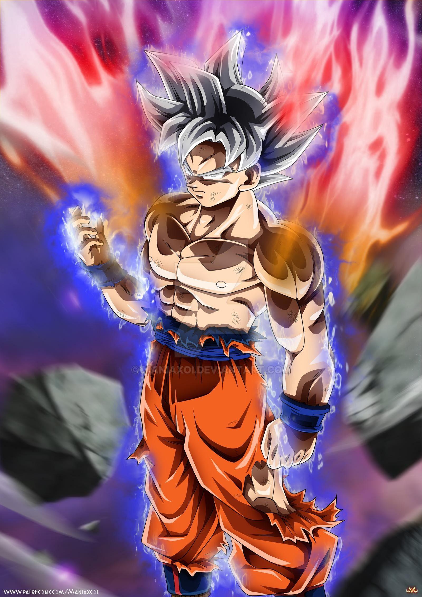 Goku Mastered Ultra Instinct By Maniaxoi On Deviantart Anime Dragon Ball Super Dragon Ball Super Art Dragon Ball Super Goku
