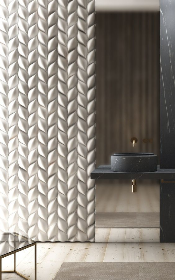 3d Wall Panels And Coverings To Blow Your Mind 31 Ideas White Bathroom Tiles 3d Wall Panels Interior