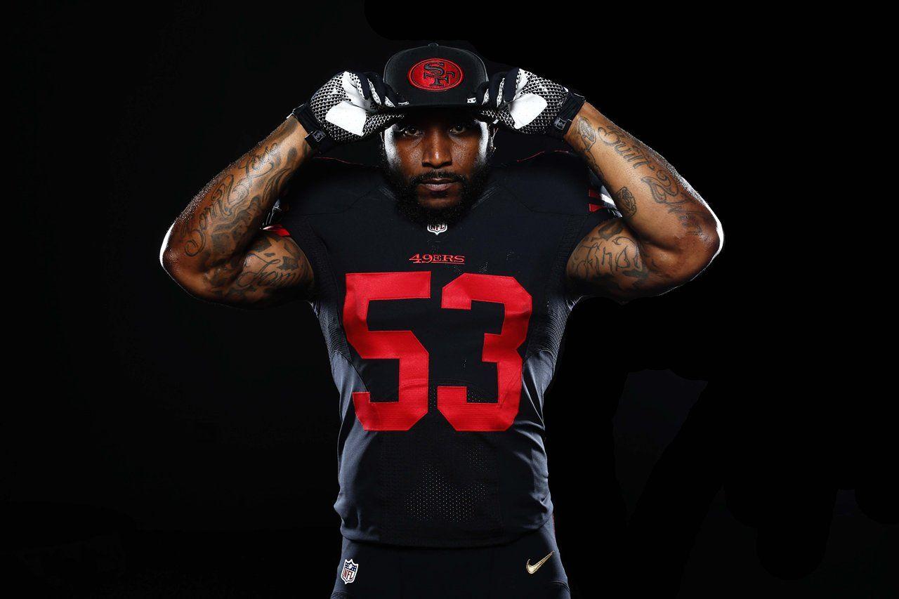 49ers To Wear Black Alternate Uniforms Vs Minnesota Vikings 49ers San Francisco 49ers Wearing Black