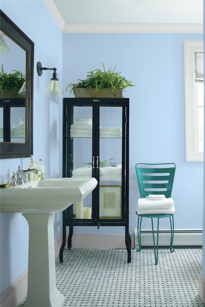 bathroom 2  benjamin moore  bathroom wall colors best