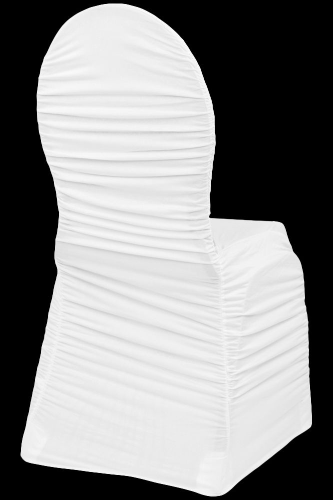 Excellent Ruched Fashion Spandex Banquet Chair Cover White In 2019 Andrewgaddart Wooden Chair Designs For Living Room Andrewgaddartcom