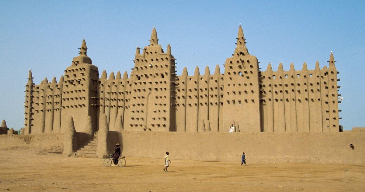 Image result for La Grande Mosquée de Djenné
