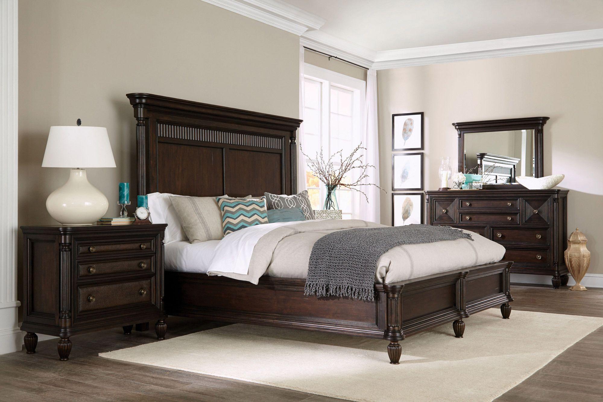 Jessa Queen Panel Bed Broyhill furniture, Bedroom sets