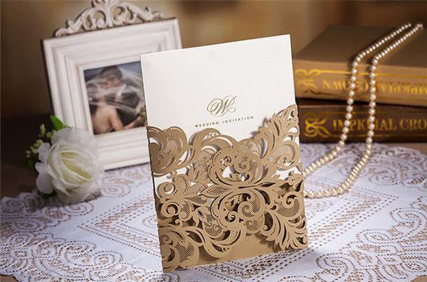 einladungskarten hochzeit klassisch klappkarten einsteckkarten, Einladungsentwurf