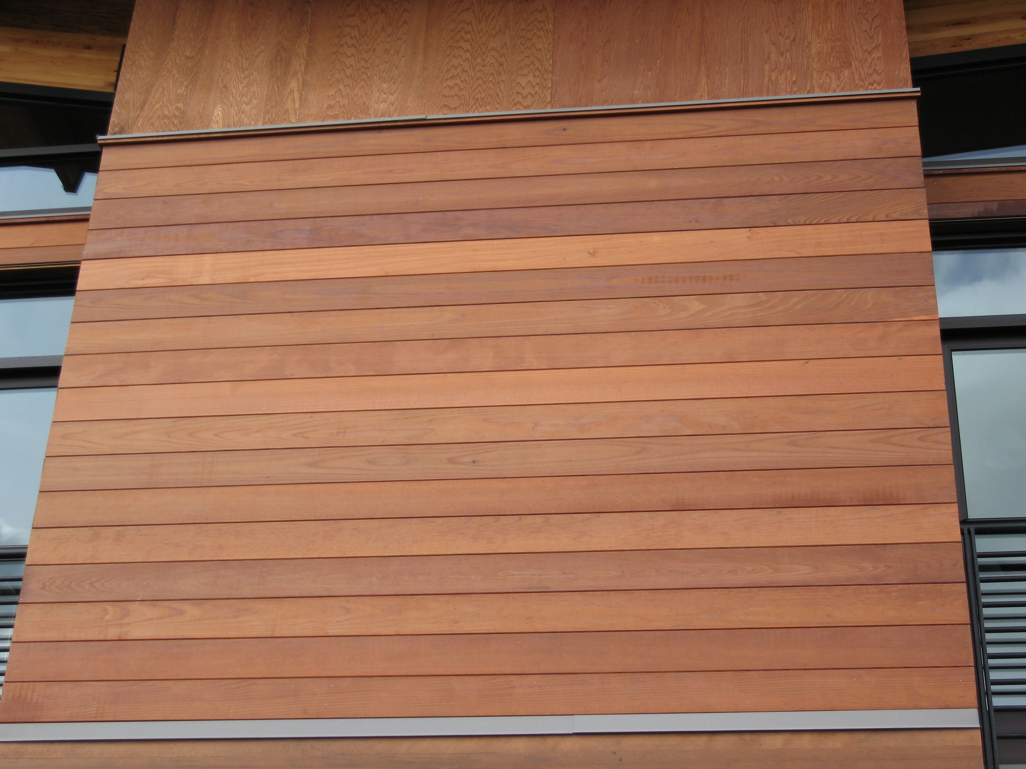 7 Popular Siding Materials To Consider: Recycled Redwood Makes A Community Center Stand Out