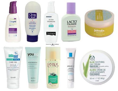 Facial moisturizer acne