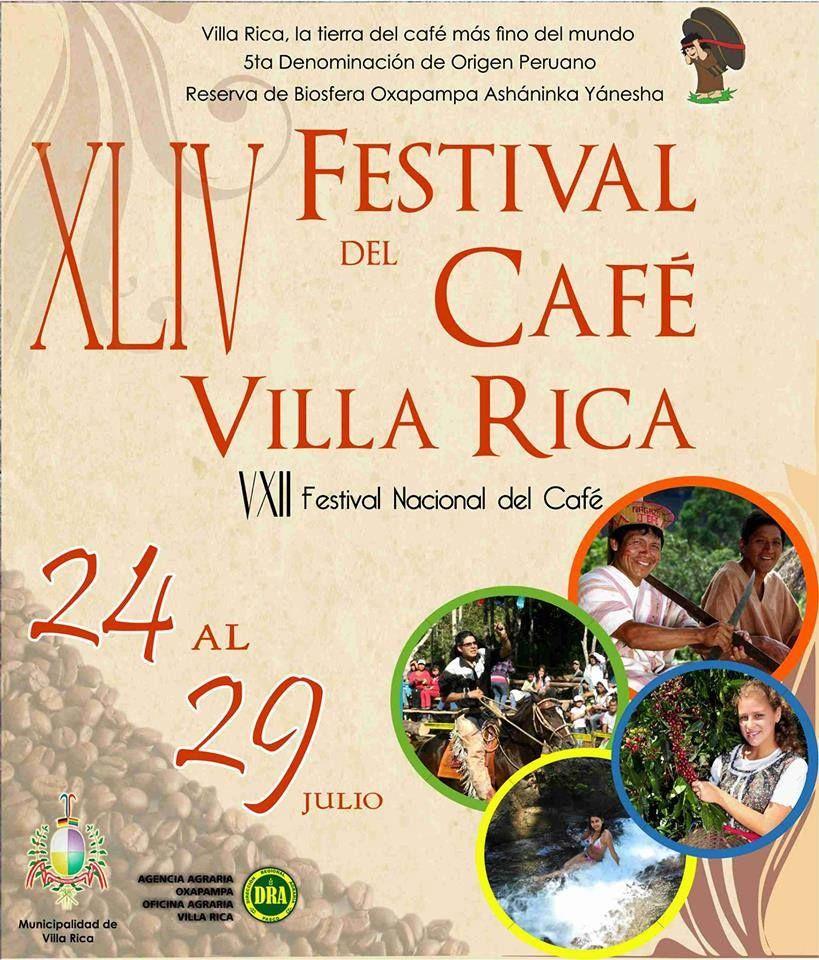 XLIV Festival de Café Villa Rica