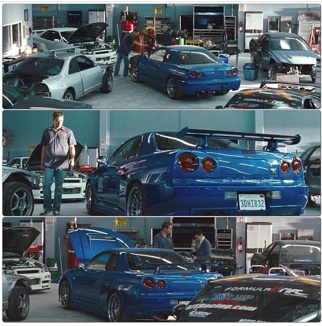"Paul Walker/Brian O'Conner Nissan GT-R R34 ""The Legend"
