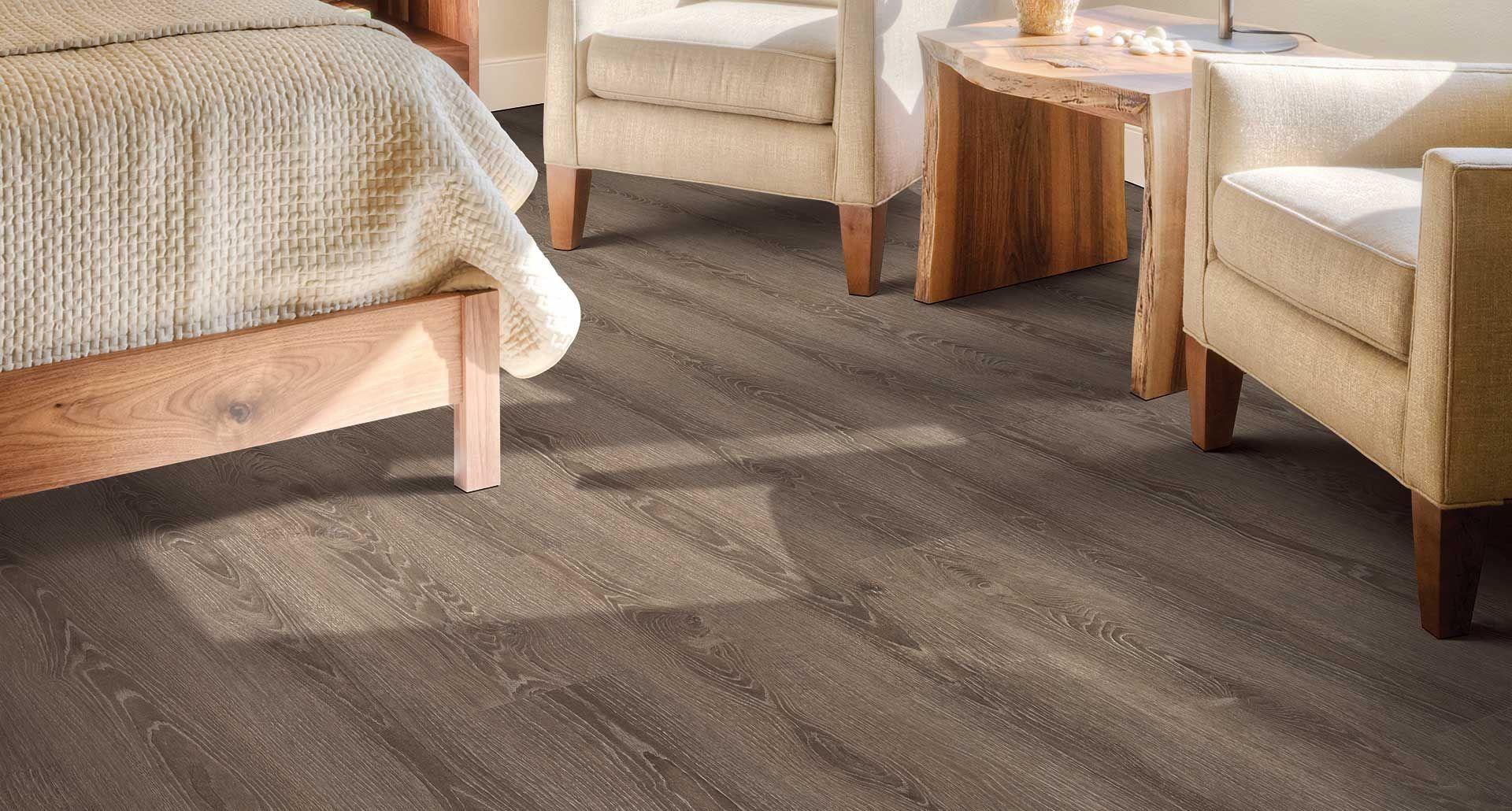 Laminate Floor Light Caramel Color