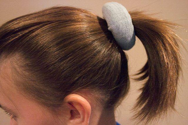 How To Make A Bun With Short Hair Ehow Short Hair Bun Donut Bun Hairstyles Messy Bun For Short Hair