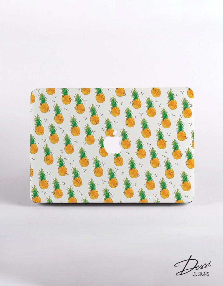 100% authentic fc4ca f4af7 Hard Plastic PINEAPPLE Pattern MacBook Case Design for MacBook Pro ...