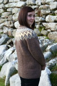 Chunky Fair Isle Yoke Cardigan | Faireisle | Pinterest | Fair isles