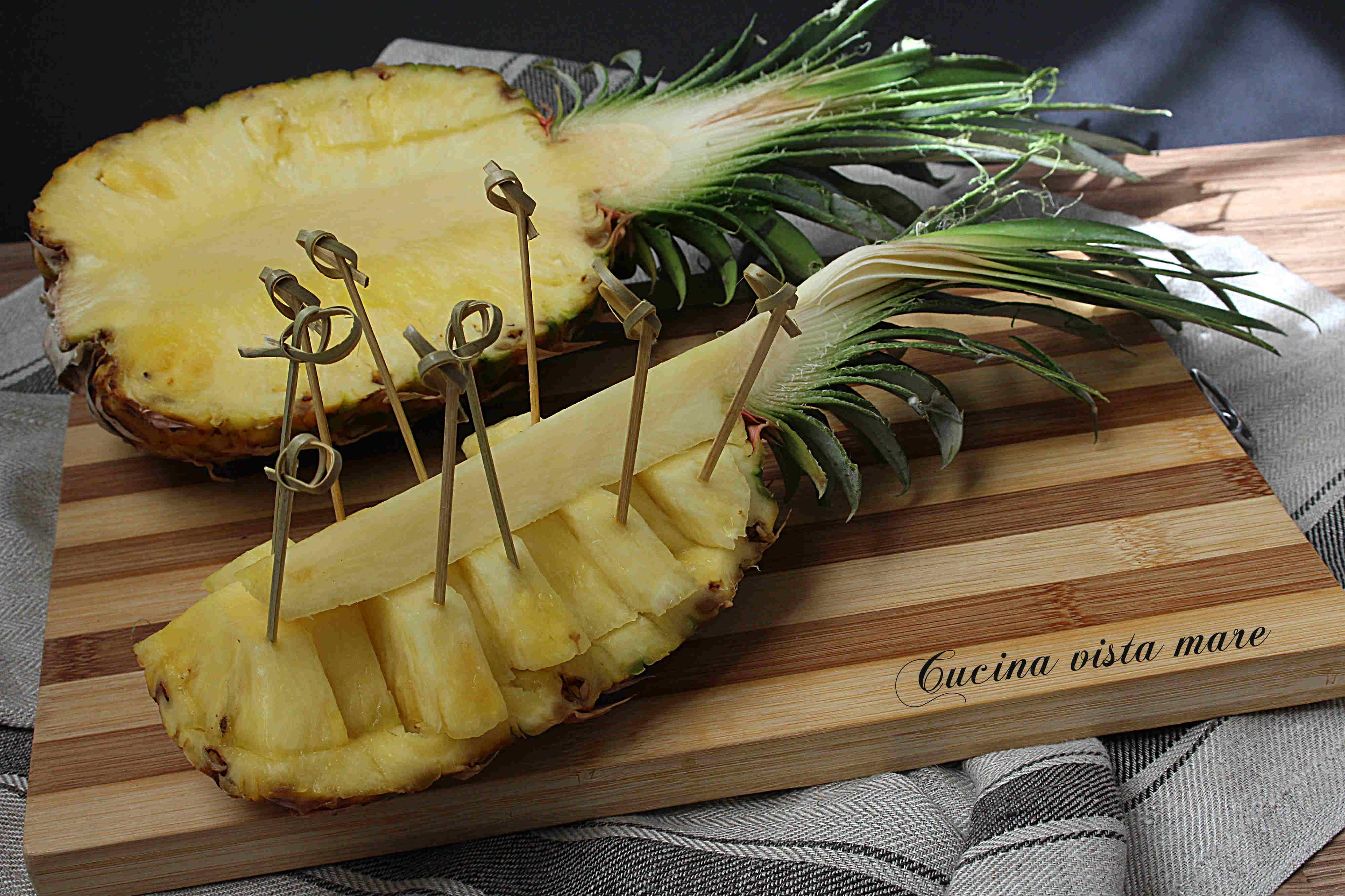 Come Servire L Ananas A Tavola.Pin Su Recipes