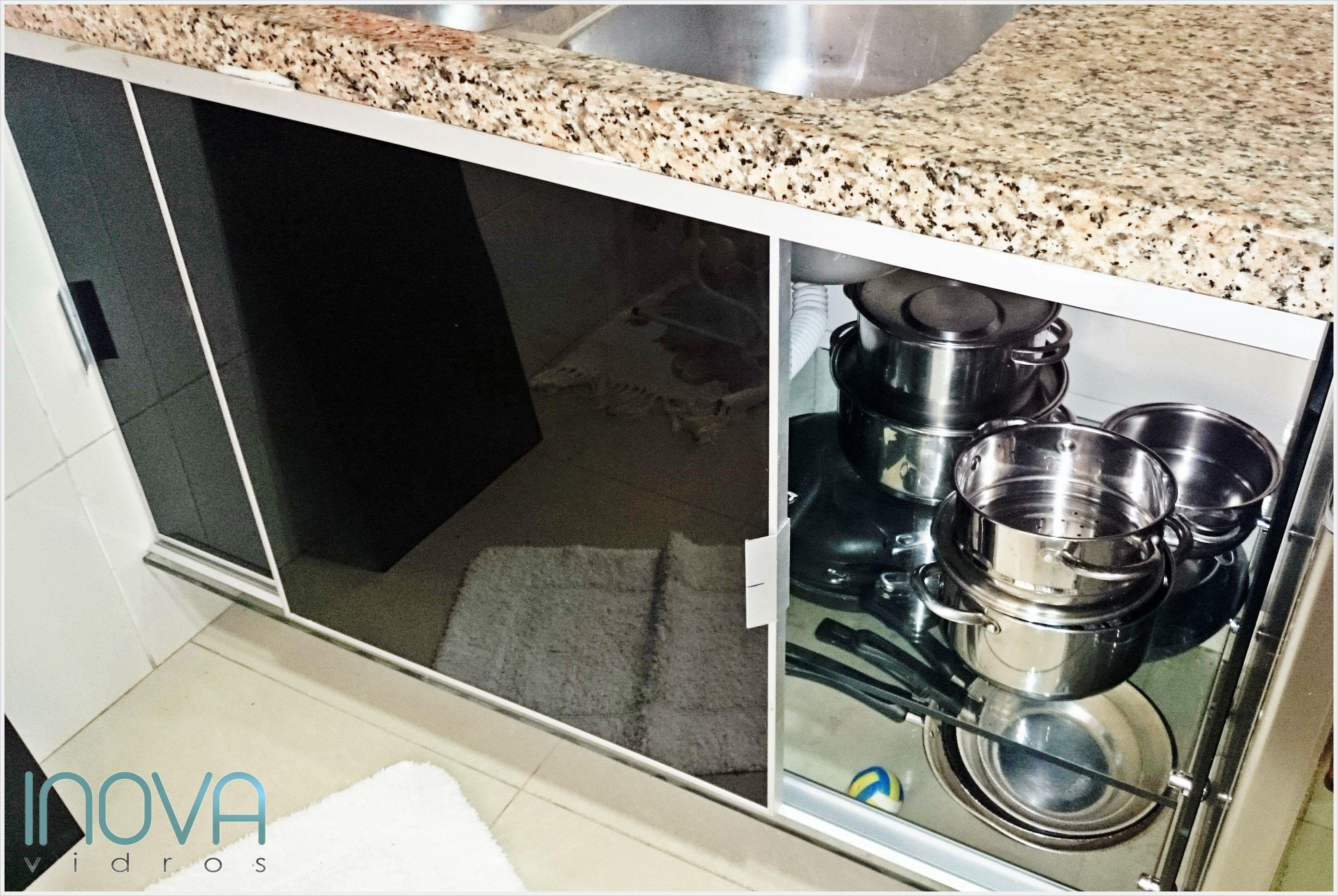 Armario Para Pia De Cozinha De Vidro De Pia Todo De Vidro